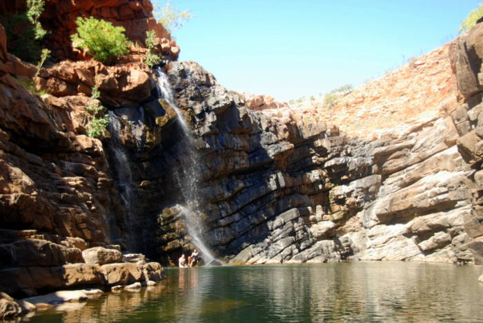 Lennard Gorge swimming hole.