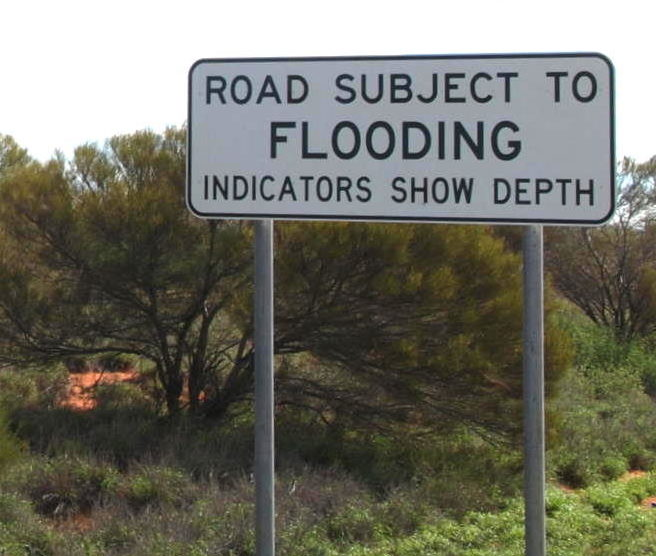 There are hundreds of floodways along the Highway.