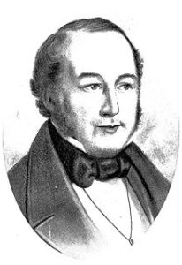 George Fletcher Moore helped establish the course of the Avon River.