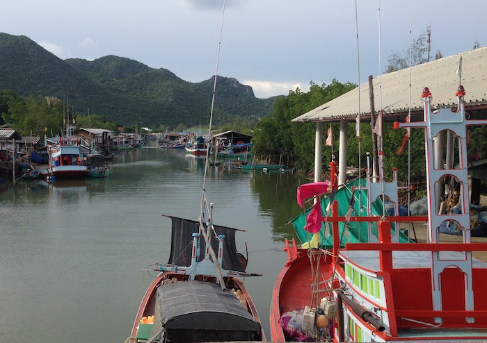 Sam Roi Yot Harbour