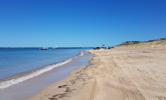 Port Gregory beach