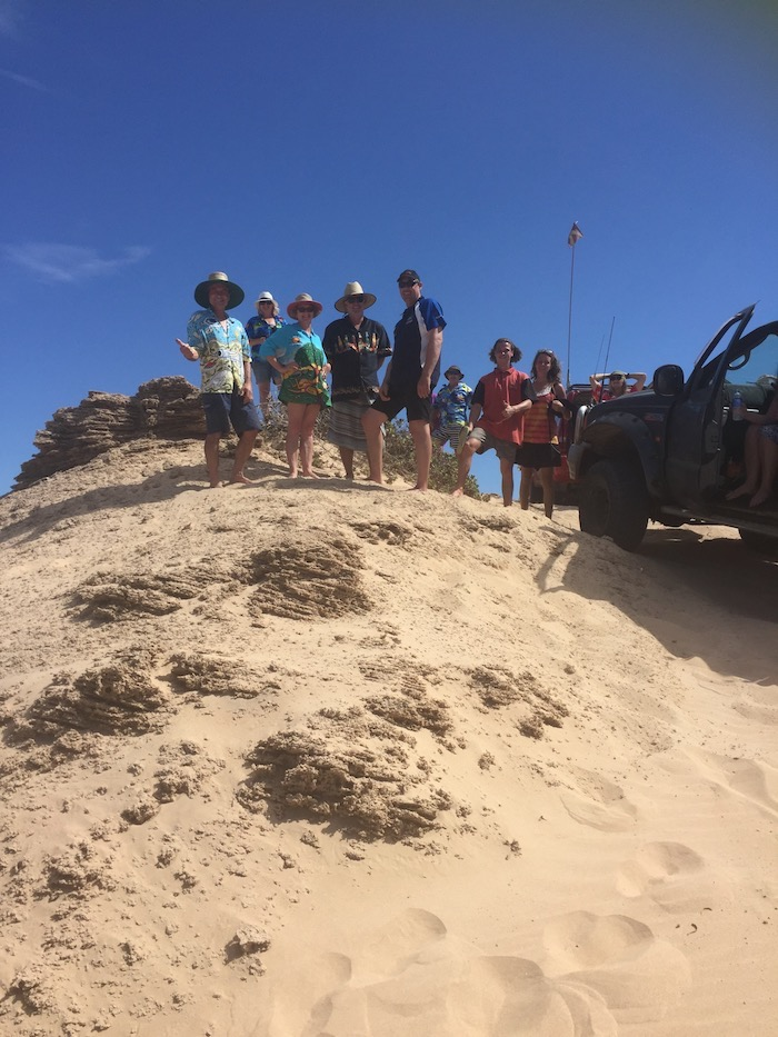 High sand hill in Horrocks Dunes.