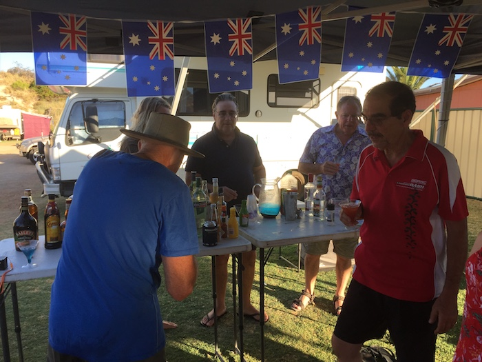 The Aussie bar