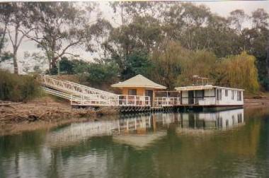 Houseboat depot.