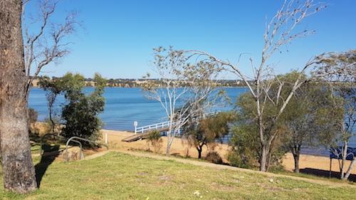 Lake Towerinning near Moodiarup.