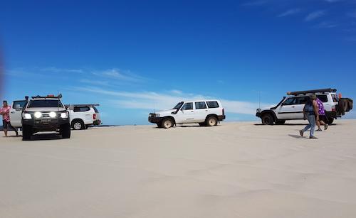 On top of Yeagarup dunes.