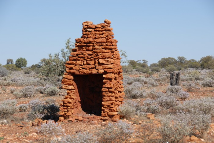 Fireplaces are generally the longest lasting part of a ruin