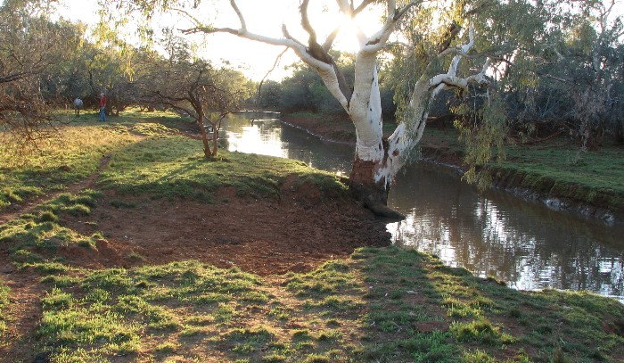 Pool in the Murchison River.
