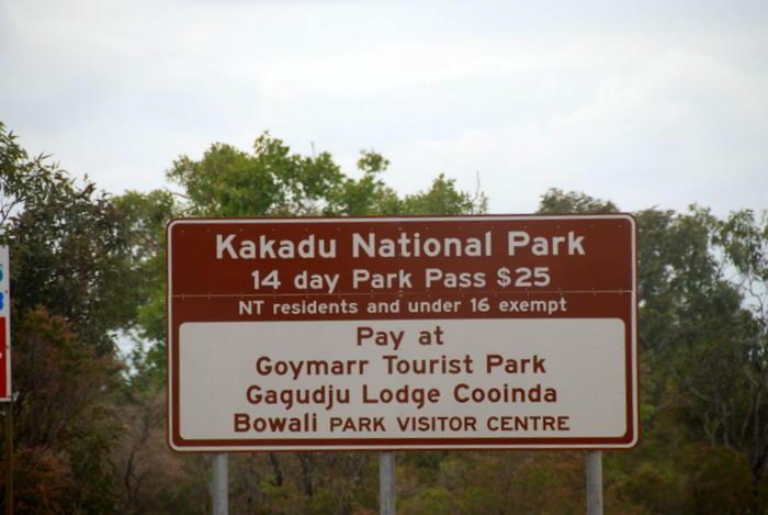 Park Pass sign