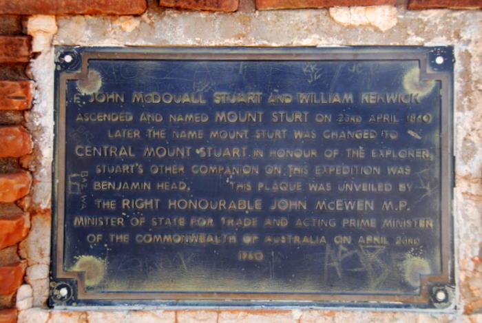 Stuart plaque