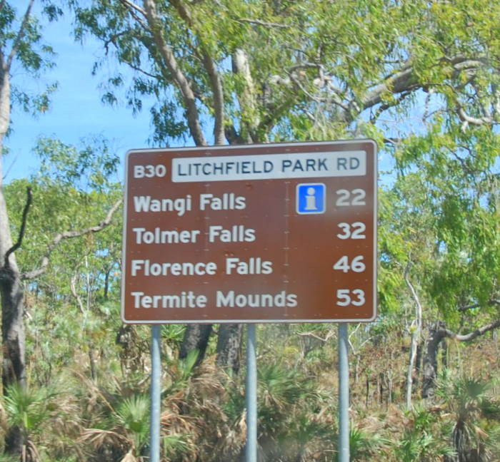 Into Litchfield National Park.