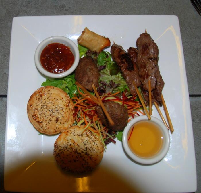 Taste of Kakadu platter.