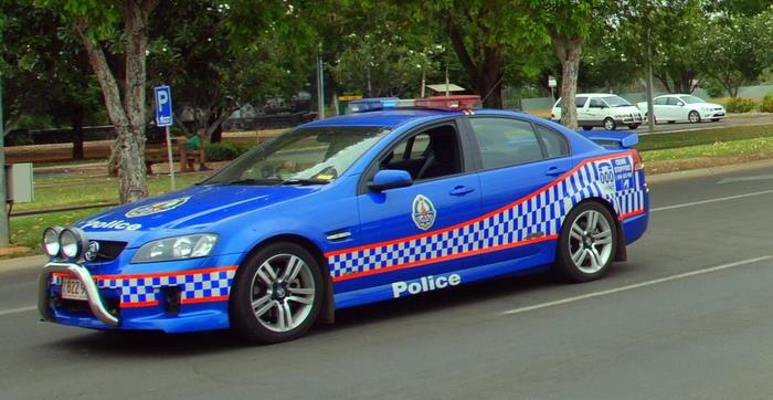 Police escort.