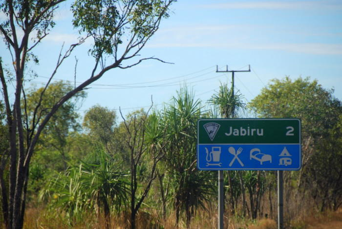 Just outside Jabiru.