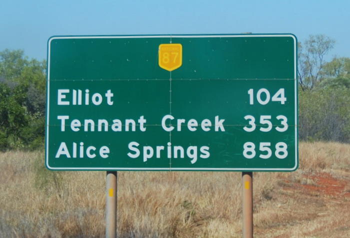 On the way to Elliot.