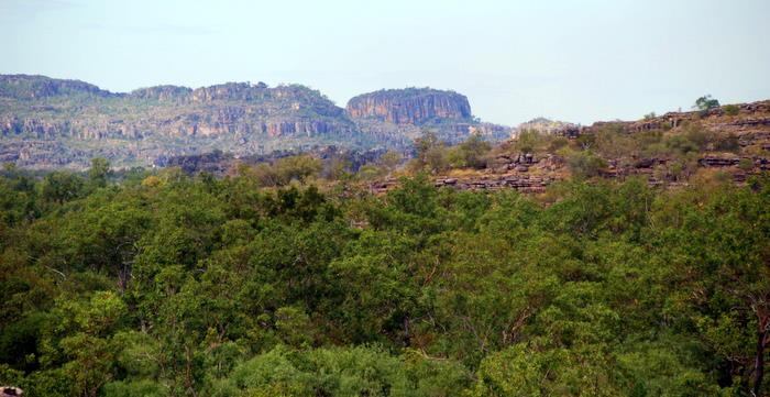 Views of part of the Spencer Range from Ubirr.