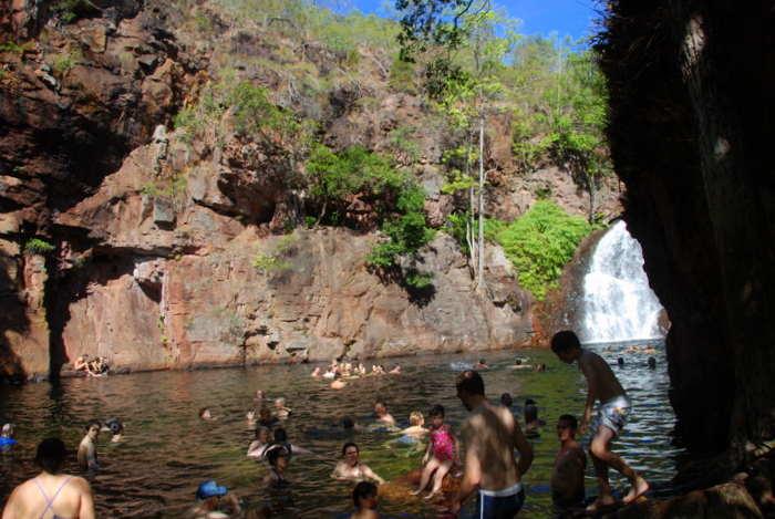 Florence Falls pool