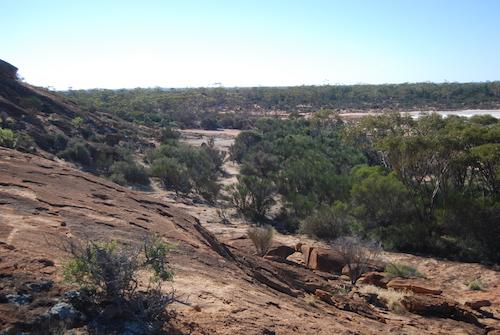 East side of Baladgie Rock.