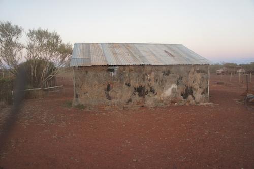 Breeze shed at Pingandy.