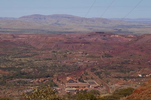 Mount Tom Price mine.