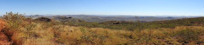 Pilbara from Mount Nameless.