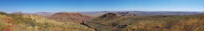 View from the summit of Mount Nameless.