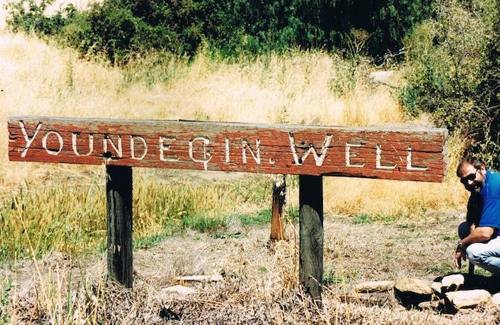 Ian Elliot at Youndegin Well 1995.