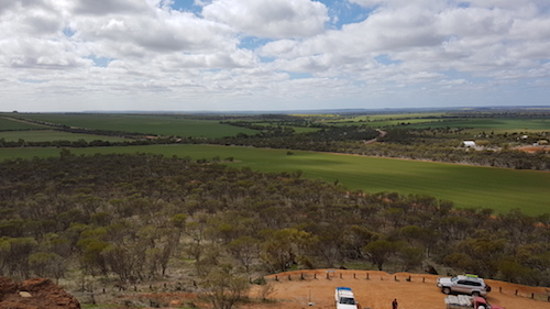 View from Mingenew Hill.