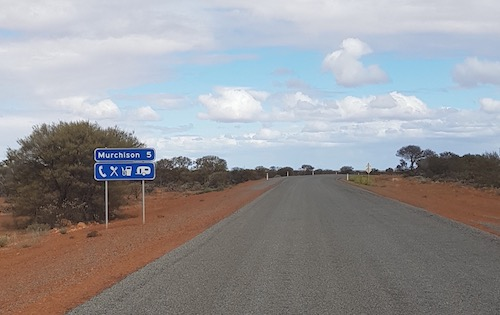 Approaching Murchison.