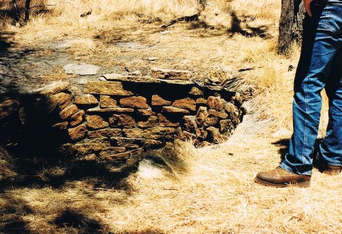 Near Tammin Rock - December 1995.