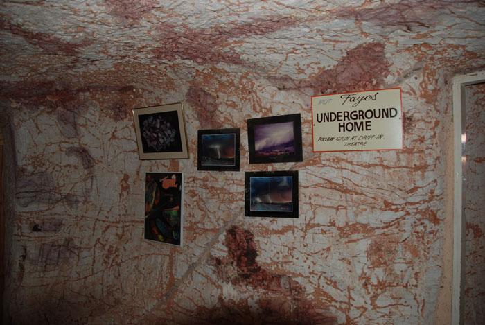 Fayes underground home