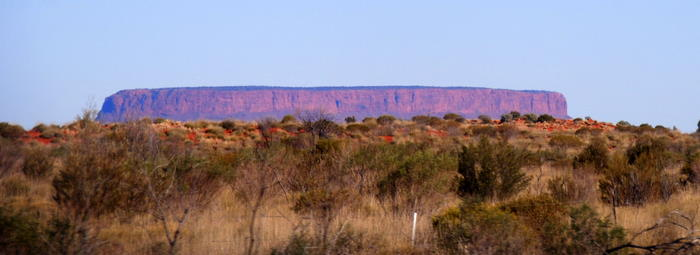 Mount Conner - often mistaken for Uluru.