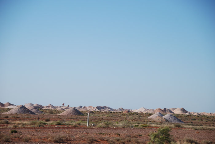 The opal fields of Coober Pedy.