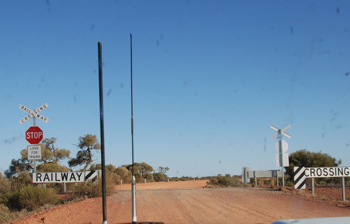The way south out of Kingoonya.