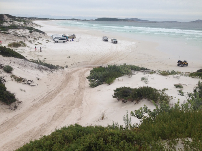 Entry/exit point to Alexander Bay on the south coast, east of Esperance.