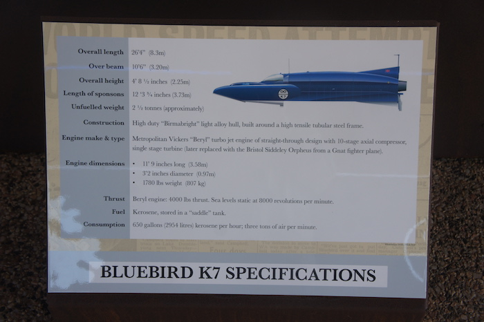 Bluebird Specifications