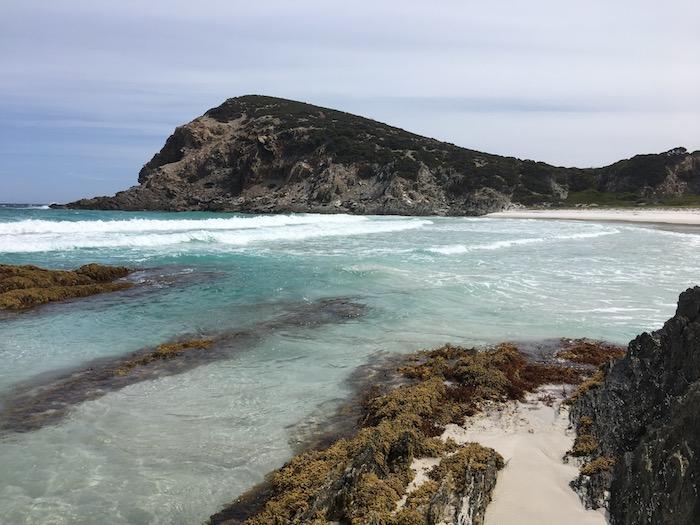 Quoin Head beach.