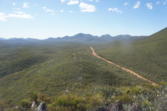 Stirling Drive, western side of National Park.