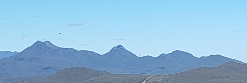 The three peaks are, from left, Mt Magog Talyuberup Peak and Mount Gog.