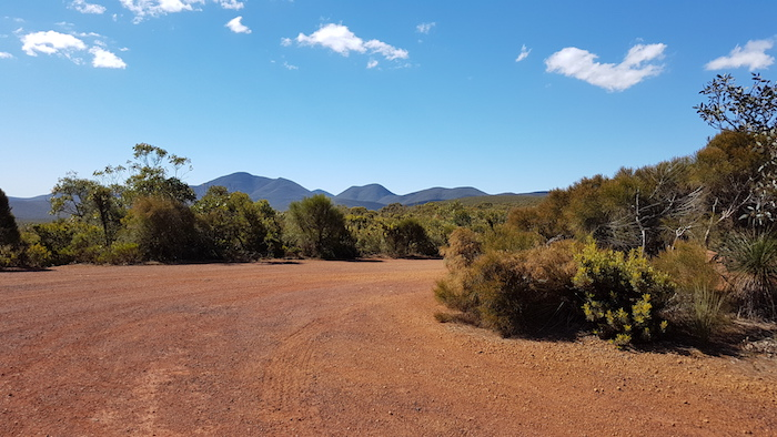 Heading into Stirling Range National Park along the very beautiful Stirling Range Drive.