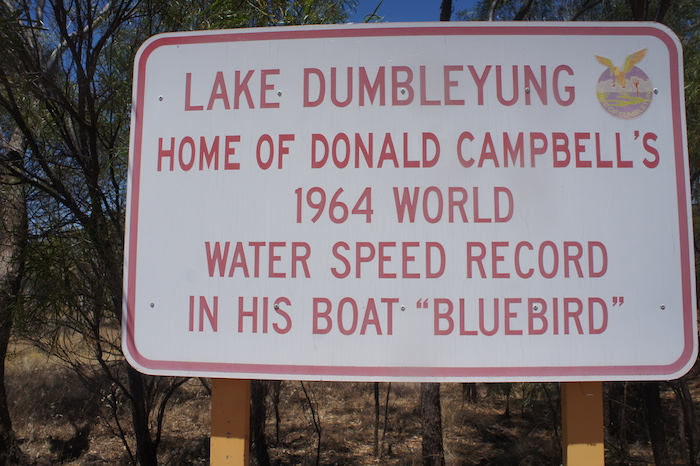 Lake Dumbleyung Home of World Water Speed Record