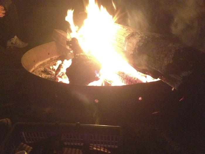 Campfire at Amery.
