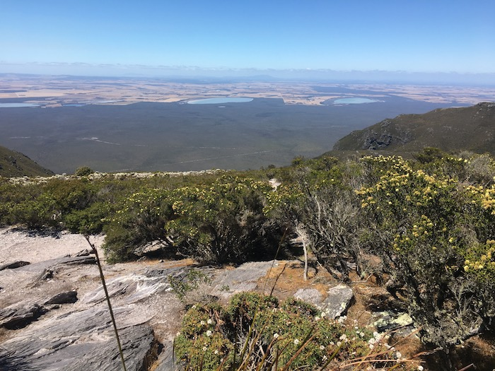 View from the top of Bluff Knoll.