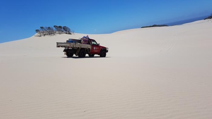 Aaron's Patrol on the Foster Dunes.