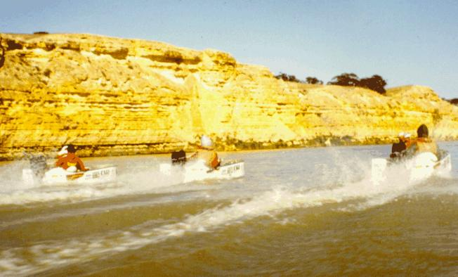 Murray River cliffs.