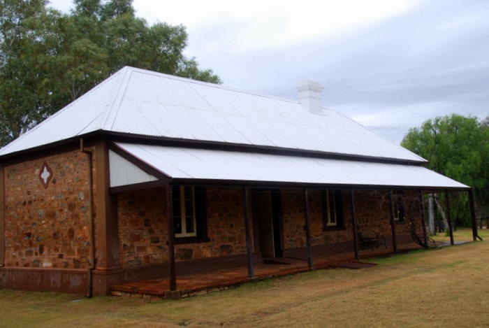 At the Telegraph Station.