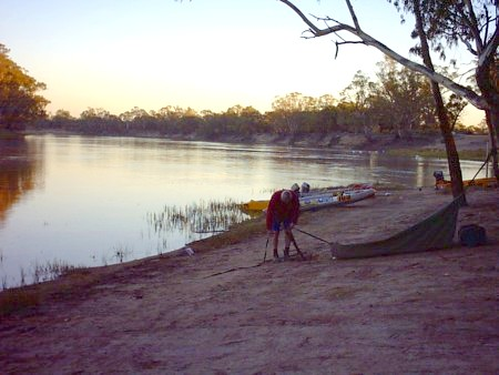 Early morning at Rufus River.
