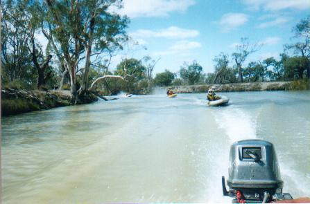 Further along the Darling River.