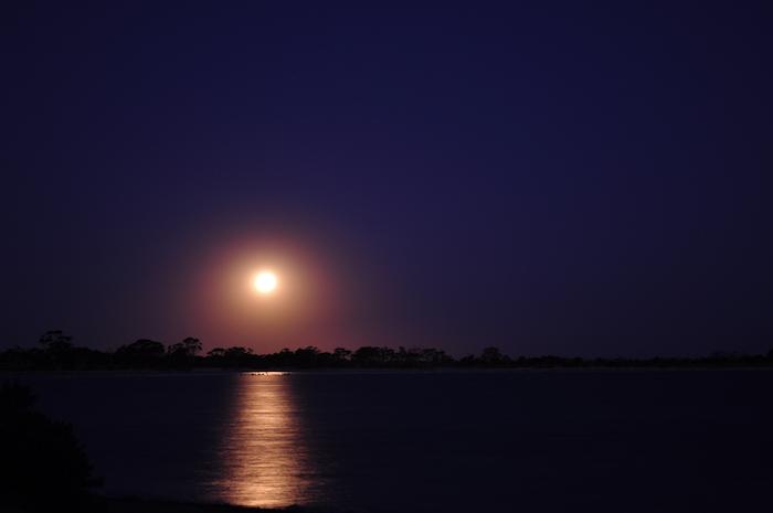 Moonrise at Yenyenning Lakes.