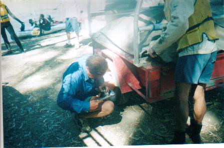 Repairs at the Junction of Mullaroo and Murray.